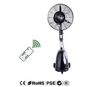 principle of the atomization fan